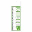 Olandese Slim Fluo - Mensile 12 Fogli