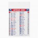 Olandese Quadrettato - Mensile 12 Fogli