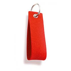 Portachiavi in feltro colorato Felt Personalizzato